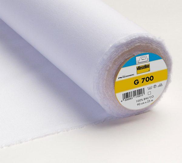 Entoilage thermocollant g700 blanc limalou
