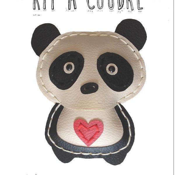 kit a coudre panda simili limalou