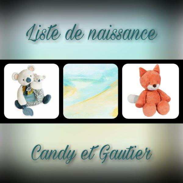 Candy et Gautier