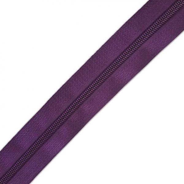 Fermeture eclair violet limalou