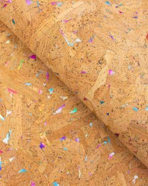 Coupon de liège - Naturel pailleté limalou