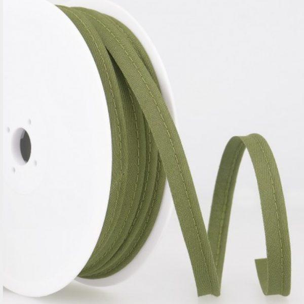 Passepoil coton - Kaki limalou