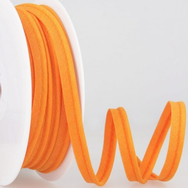 Passepoil coton - Orange limalou