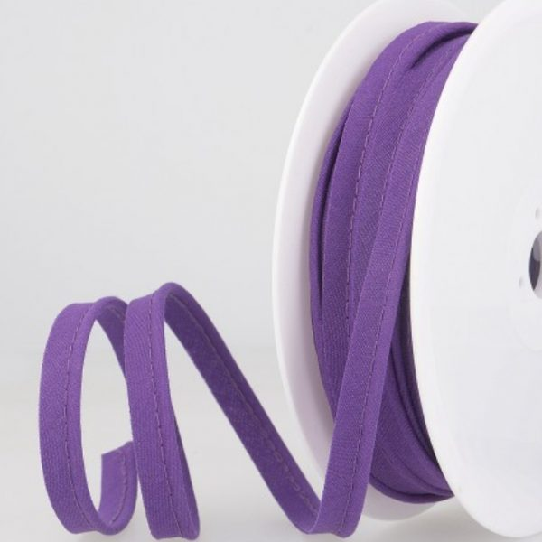 Passepoil coton - Violet limalou
