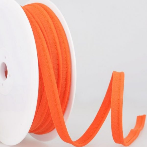 Passepoil coton - Orange vif limalou