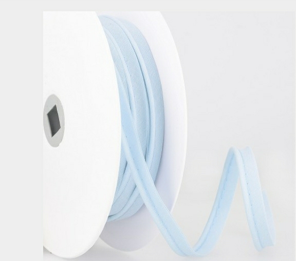 Passepoil coton - Bleu clair limalou