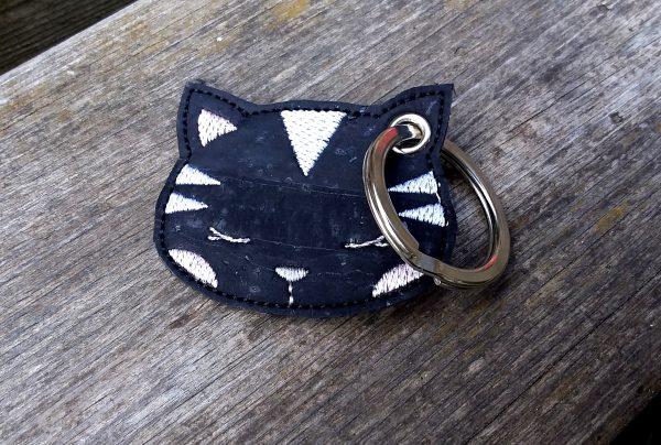 Porte clé chat à personnaliser limalou