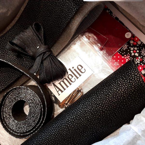 Kit couture amélie rouge limalou