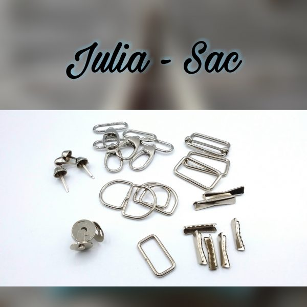 kit bouclerie sac julia limalou