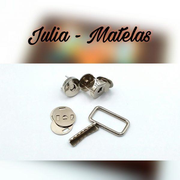 Kit bouclerie - Matelas Julia